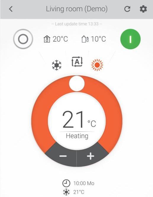 raffrescamento riscaldamento appa daikin controllo pompa di calore avr milano